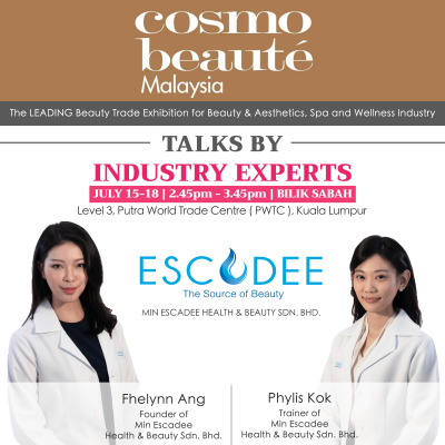 Read more about the article Cosmobeaute 2019 @ PWTC